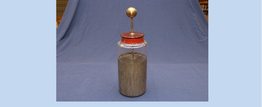 The Leyden jar is the earliest form of the condenser or capacitor.jpg