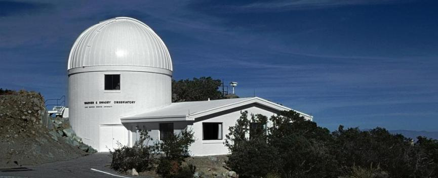 The Warner and Swasey Observatory moved to Kitt Peak National Observatory in 1979.jpg